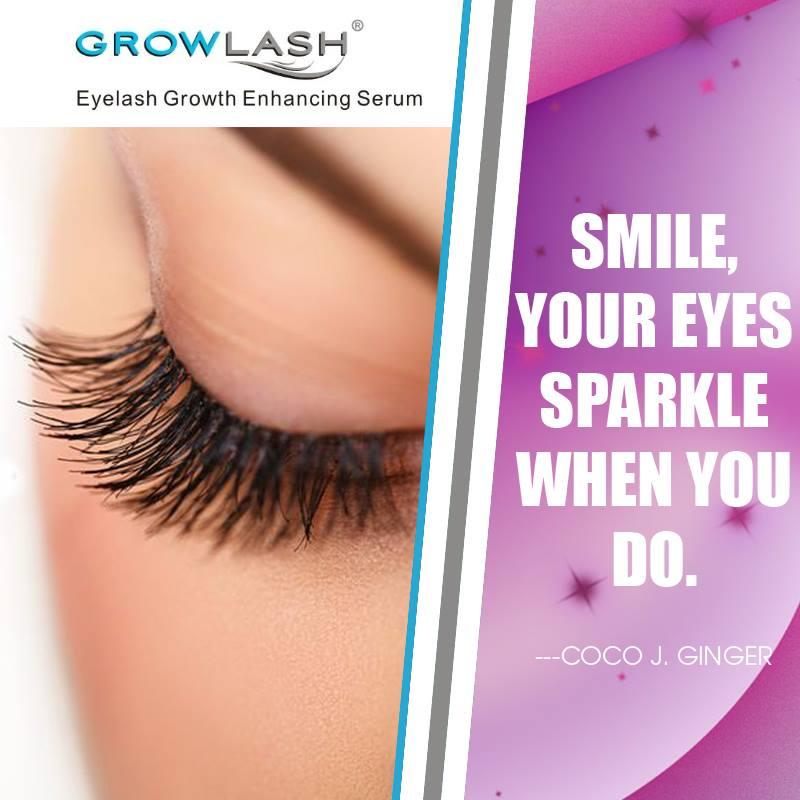 Grow your eyelashes and look ravishing
