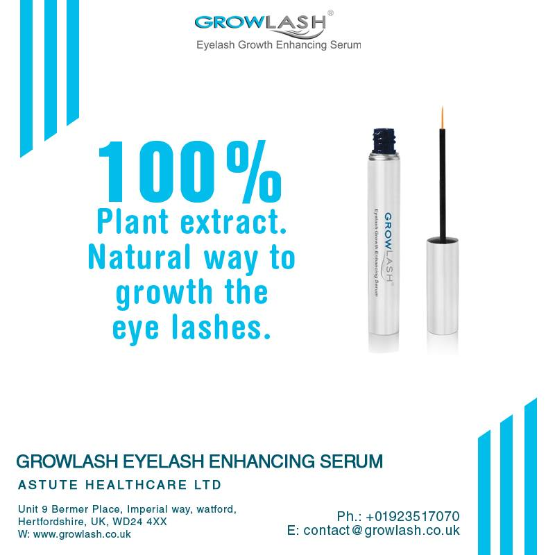Healthy and Longer Eyelashes Enhance the Charm of Your Face