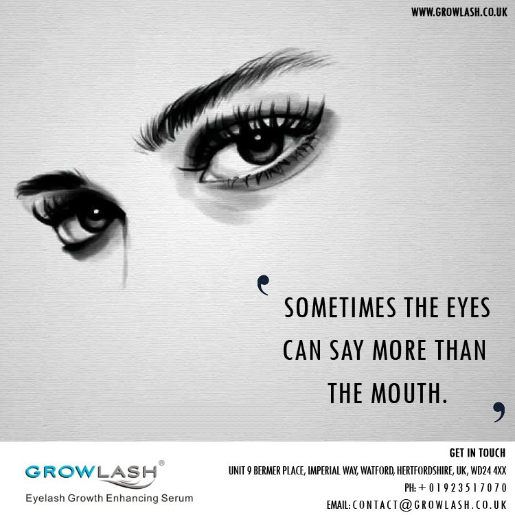 Growlash Best Solution To Grow Prominent Natural Eyelashes