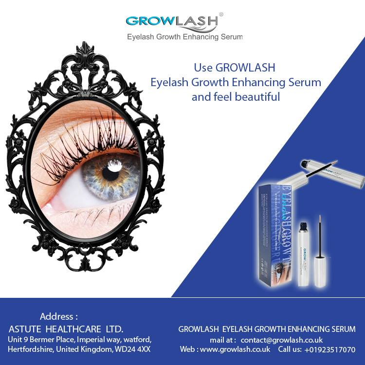 Eyelash growth enhancing serum – Look all the more beautiful and gorgeous